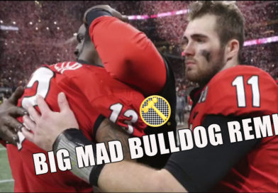 Alabama Football National Champions Big Mad Georgia BullDog