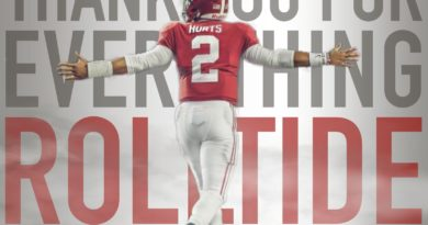 Alabama Football's Jalen Hurts Oklahoma